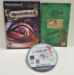 Manhunt-2-PS2-Playstation-2-Game-1-Owner-COMPLETE-Working-Tested-Rockstar
