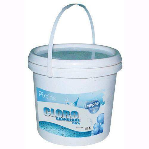 DiclGold Granulare Lympha By Bestway Per Piscina 5 Kg. Conf. 4Pz.  -59005