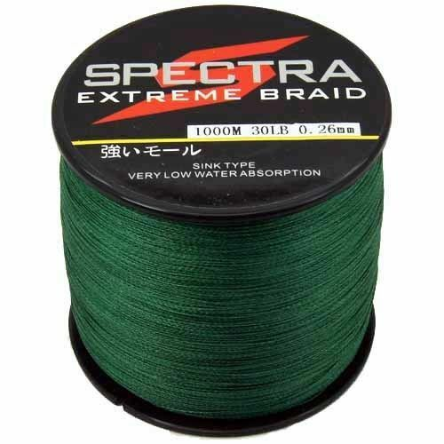 100M-1000M  Super Strong Dyneema Spectra Sea Braided Fishing Line UK STOCK FAST