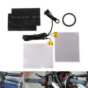 Motorcycle-12V-Heated-Grip-Throttle-Pads-Handlebars-ATV-Scooter-Grips-Heater-Hot