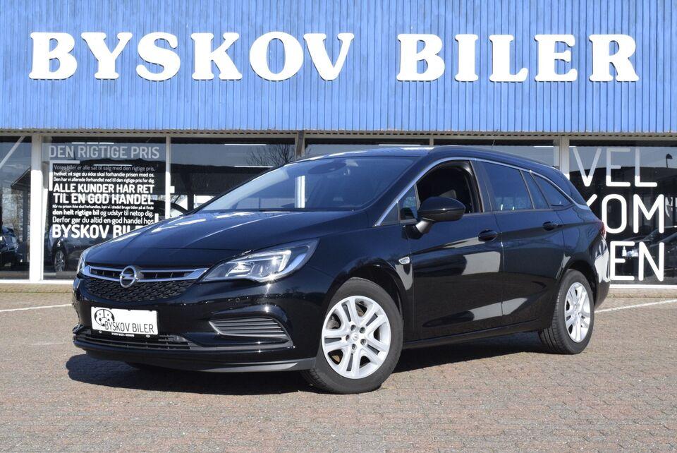 Opel Astra 1,6 CDTi 136 Enjoy ST Diesel modelår 2017 km 58000