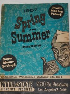 1957 SPRING AND SUMMER PREVIEW Profit Making Values Magazine