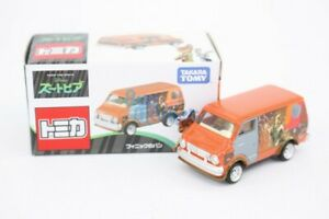 Disney-Motors-Takara-Tomy-Zootopia-Nick-and-Finnick-Truck-Toy-Car-Diecast-Japan