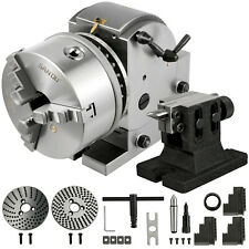 Indexing Dividing Head Bs 1 6 3 Jaw Chuck Amp Tailstock For Cnc Milling Machine