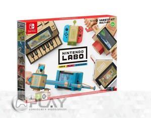 Nintendo-SWITCH-Nintendo-LABO-Kit-Variado-Piano-Moto-Casa-Cana-Antenauta