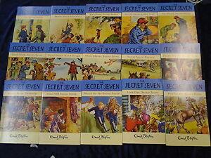 15-ADVENTUROUS-SECRET-SEVEN-BOOKS-by-ENID-BLYTON-UK-FREE-POST-PAPERBACKS