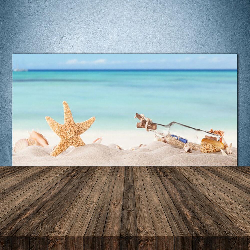 Crédence de cuisine en verre Panneau 140x70 Art Message En Bouteille