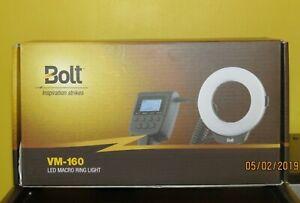 Bolt-VM-160-LED-Macro-Ring-Light-flash-For-Sony-E-mount-digital-cameras