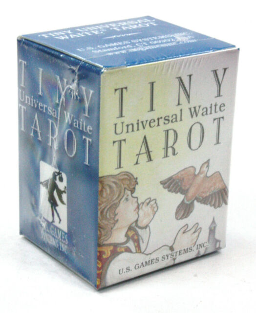 TINY UNIVERSAL FAMOUS RIDER WAITE WORLDS SMALLEST TAROT CARDS DECK DIVINATION