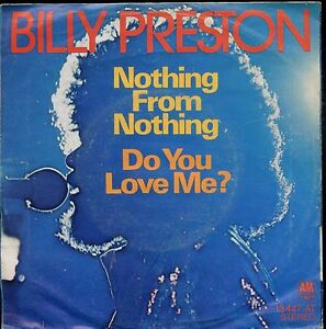 7inch-BILLY-PRESTON-nothing-from-nothing-GERMANY-1974-EX-PS
