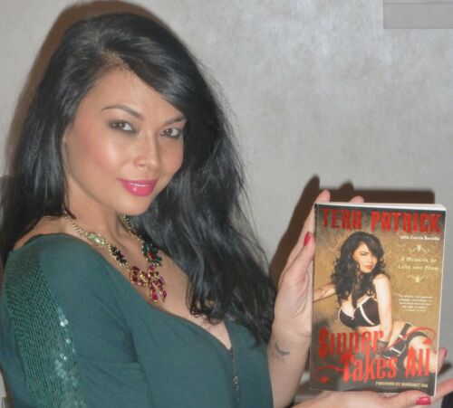 Tera Patrick Signed Sinner Takes All Book PSA/DNA COA A Memoir of Love and Porn
