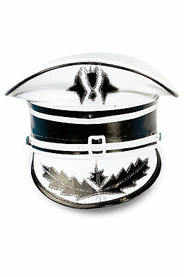 Marching Band Hats Halloween Costumes Burning Man Hippie Madcap White Hat