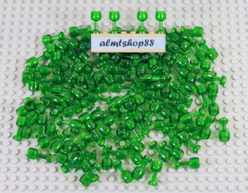 LEGO Trans-Green Goblets Glass Wine Beer Drink Food Trans Green Bulk Lot