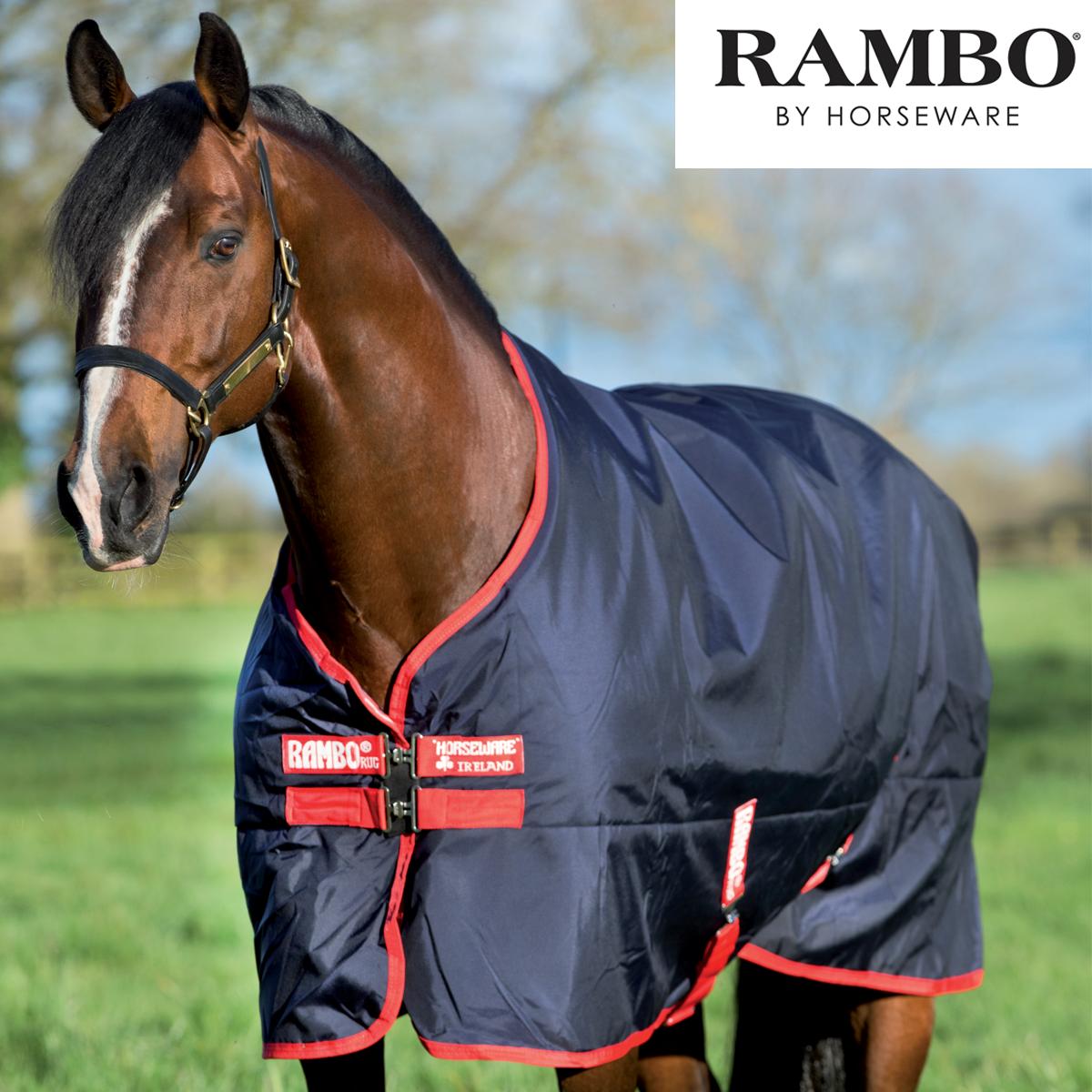 Horseware Rambo Mediumweight Original Mediumweight Rambo Turnout Rug (200g) 5c06fc