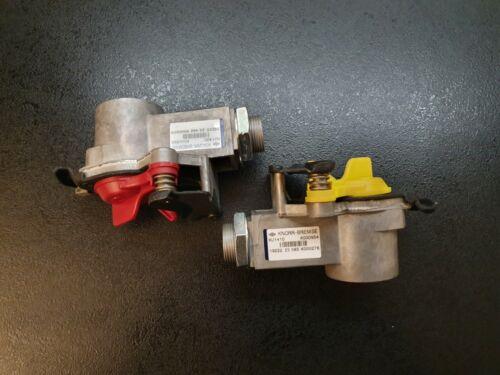 KU1410 Gelb M16x1,5 Knorr Bremse Kupplungskopf mit Filter Rot KU1400