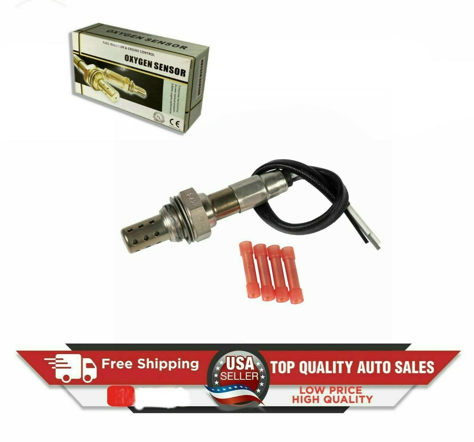 Honda Chevrolet NEW AFTERMARKET Oxygen Sensor-Universal 4 WIRE For-Ford Kia