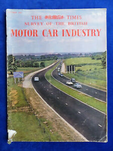 Ehrlich Times Survey British Motor Car Industry Rover Austin Elegante Form Uk-magazin 10/1961