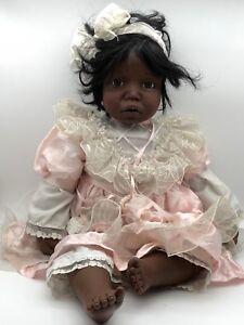 Millan Porzellan Puppe 68 Cm Top Zustand Denise Mc