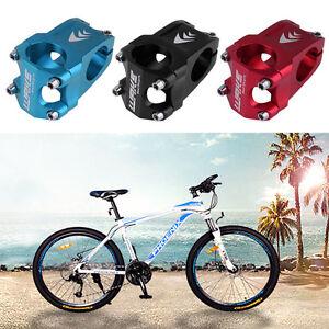 Adjustable-Bicycle-Riser-Bike-Aluminum-Short-Handlebar-Stem-Riser-31-8mm-zf