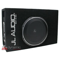 """JL Audio ACP112LG-TW1 12"""" MicroSub + Amplified Subwoofer Ported-Enclosure System"""
