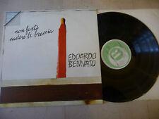 """EDOARDO BENNATO""""NON FARTI CADERE LE BRACCIA-disco 33 giri RICORDI 1973"""""""