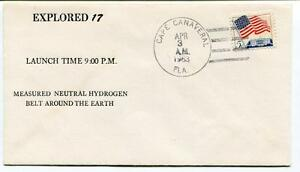 1963 Explored 17 Measured Neutral Hydrogen Belt Earth Cape Canaveral Nasa Usa