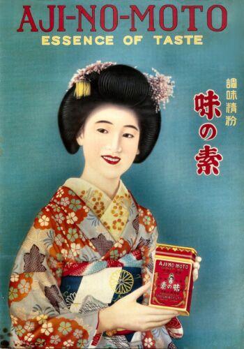 Repro Vintage Japanese Advertising Print #8 circa 1920 please see description