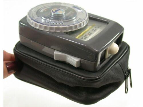 Leica Leitz cuero estuche Leather Soft case Gossen lunasix 3 light metros nuevo New//7