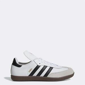 Adidas-Mens-samba-classic-Fabric-Low-Top-Lace-Up-Running-White-Size-12-0-xWbW
