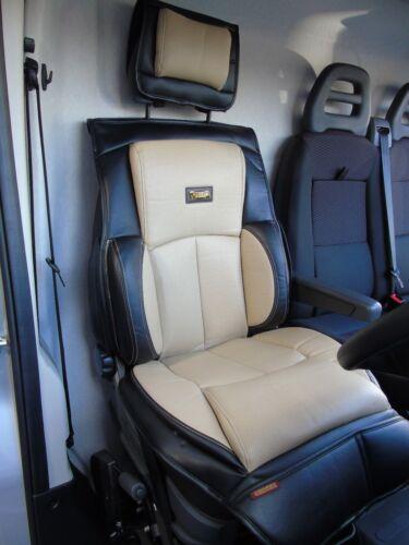 I YS01 Creme//Schwarz Semi Passend für Mercedes Sprinter 2016 Lkw Sitzbezug
