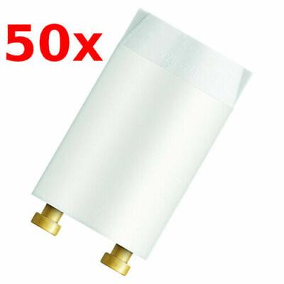 Pack 10x Philips S10 Starter für Leuchtstofflampe Neonröhre 4-65W Zünder NEU