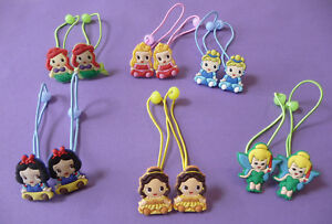 MY LITTLE PONY HAIR BOBBLE ELASTICS PONIES GIRLS 4 diff colours to choose from