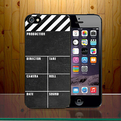 Clapperboard Film Making Slate Hollywood Quirky Movie Hard Phone Case Cover Z453