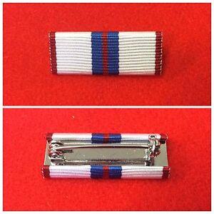 Silver-Jubilee-Ribbon-Bar-pin-British-Medals-SJ-Medal-Ribbon-Bar-Pin