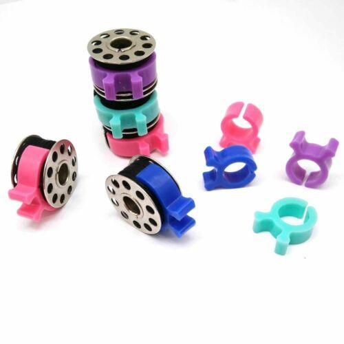 Bobbin Clips Holders Clamps Buddies Great For Embroidery Quilting Sewing Thread