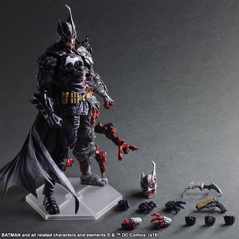 DC Comics Variant Play Arts Kai Batman Rogues Gallery Two-Face Ver Action Figure