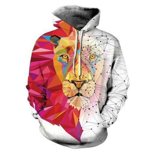 Womens Mens 3D Printed Galaxy Hoodie Sweatshirt Sweater Pullover Jacket Coat