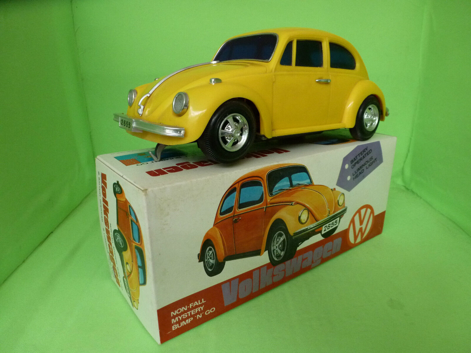 HONG KONG TOY CENTRE  VW VOLKSWAGEN  VW - IN BOX _ RARE SELTEN IN GOOD CONDITION