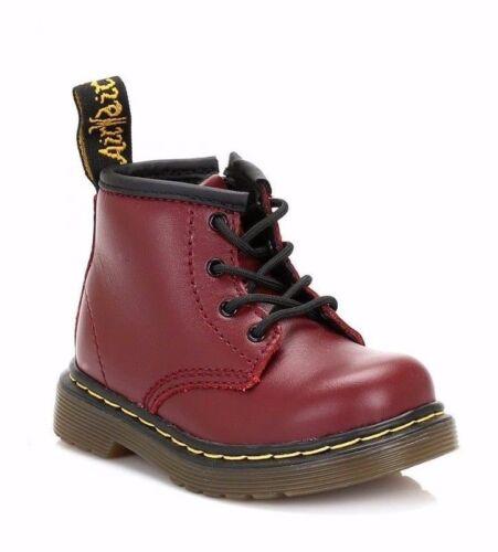 Martens Brooklee B 15933602 rouge cerise pour Bébé Chaussures Dr