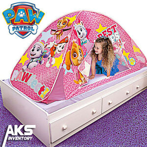 paw patrol skye everest playhut twin bed tent 2-in-1 hideaway