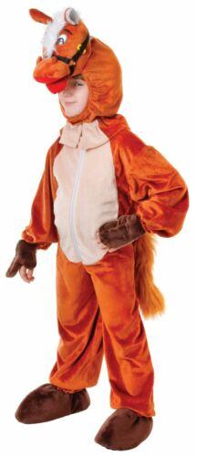 Bambini Funny Farm ANIMALE FELICE Piccolo Cavallo Costume Vestito Da Festa SVENDITA