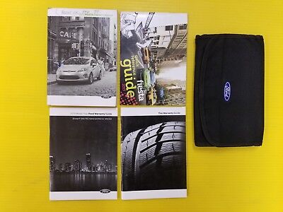 fiesta   ford owners owners manual set  case ebay