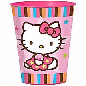 Hello Kitty Tween Neon Stadium Keepsake 1 Ct Plastic Cup Party