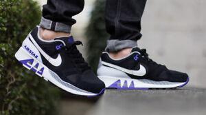 Nike Air Stab Men s Running Shoes Black Persian Violet Purple White ... 5f4ac12fa0