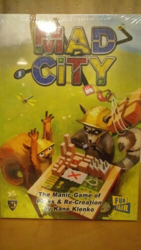 Mad City-Brand New /& Sealed Board Game
