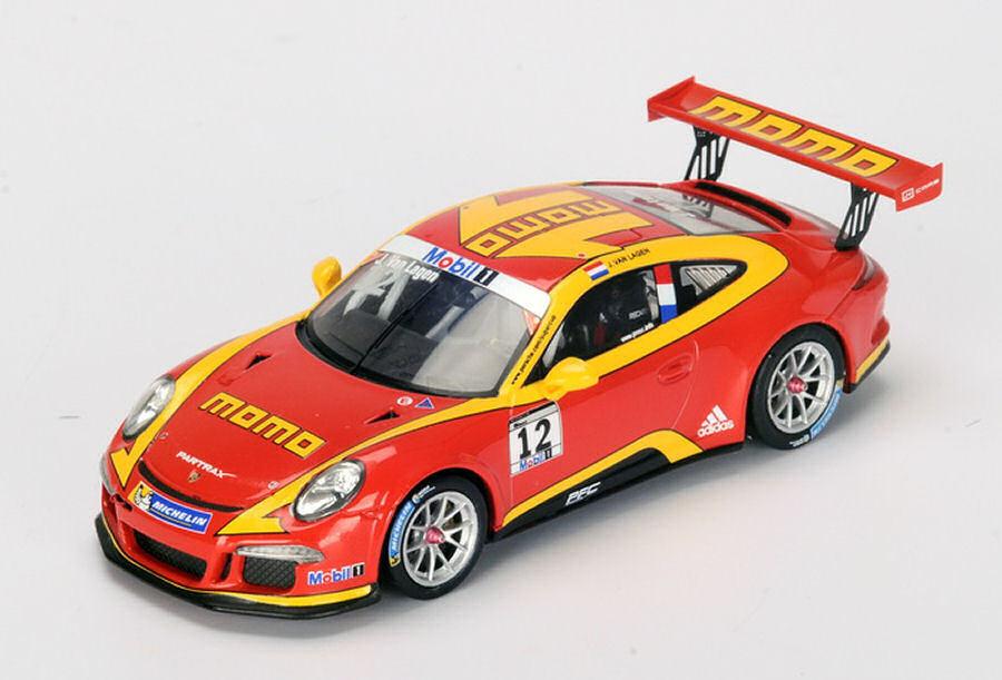PORSCHE Mobil 1 MOMO Supercoppa  12 2015 Jaap van Lagen 1:43 MODEL si003