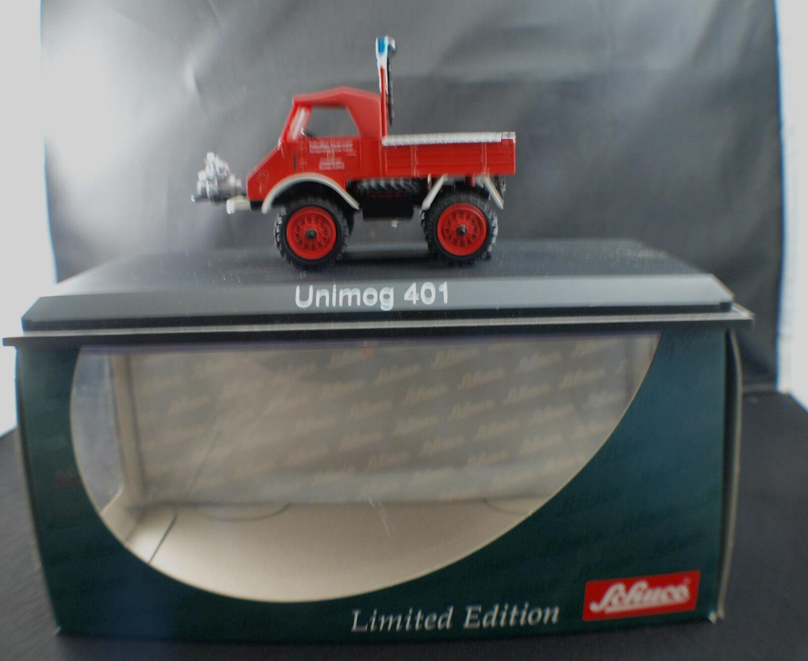 vendita calda online Schuco 03118 Pompiers Mercedes-Benz Unimog 401 Feuerweh Gronau mint mint mint 1 43 MIB  vendita online