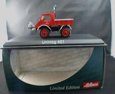 Schuco 03118 Pompiers Mercedes-Benz Unimog 401 Feuerweh Gronau mint 1/43 MIB
