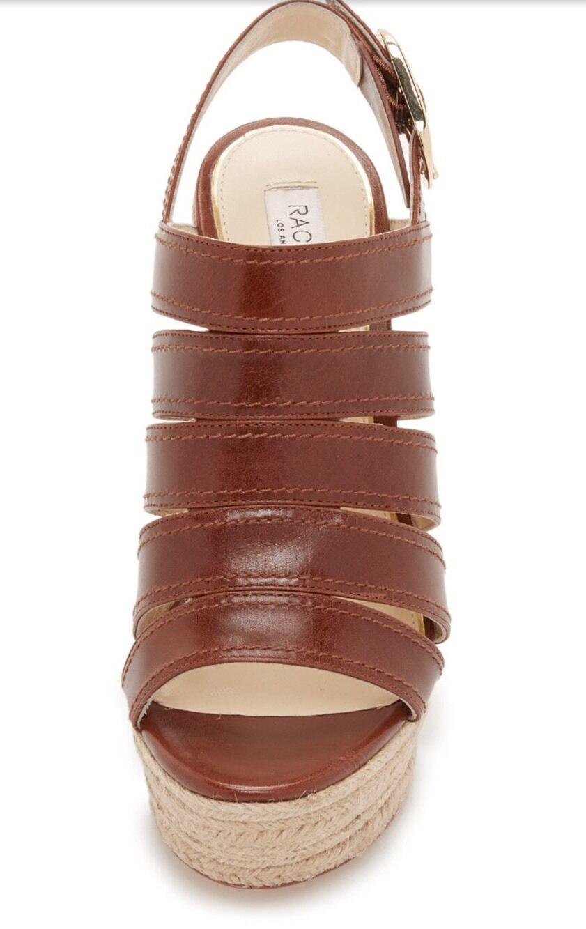 NEW Rachel 348 348 348 Rachel NEW Zoe Gia Espadrille Wedge Sandalo scarpe 8.5 M   cc9d20