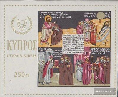 kompl.ausg. Zypern Block4 Postfrisch 1966 Heiliger Barnabas Dauerhafte Modellierung
